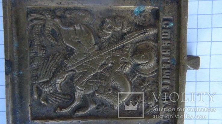 Ікона литво. Святий Георгій змієборець, фото №4