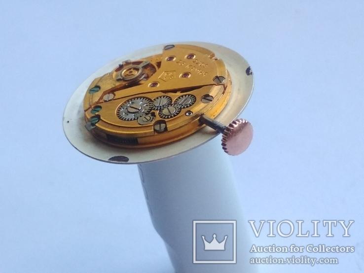 Оригинальный циферблат, механизм на золотые Полет 1МЧЗ, фото №6