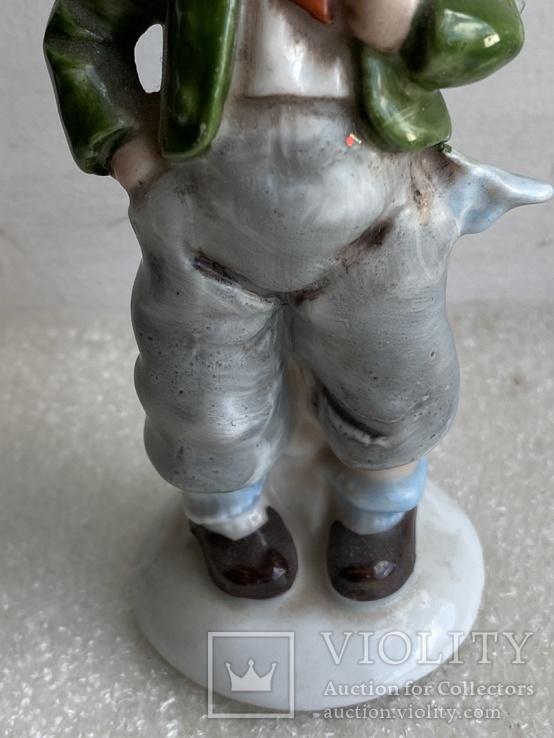 Статуэтка Мальчик с рюкзаком Германия, фото №4