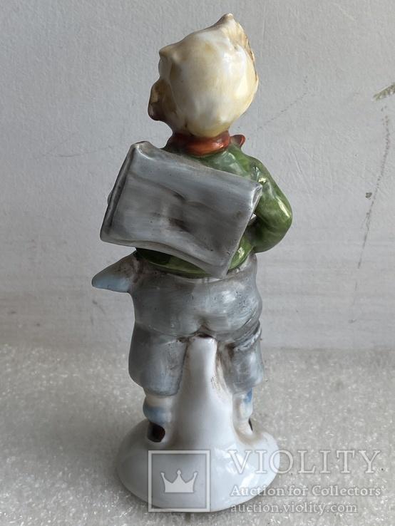 Статуэтка Мальчик с рюкзаком Германия, фото №7