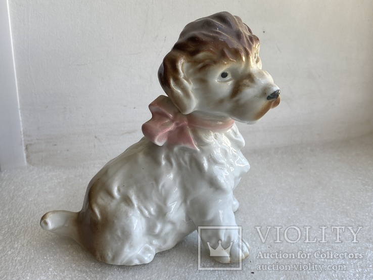 Статуэтка Собачка с бантиком Германия, фото №8