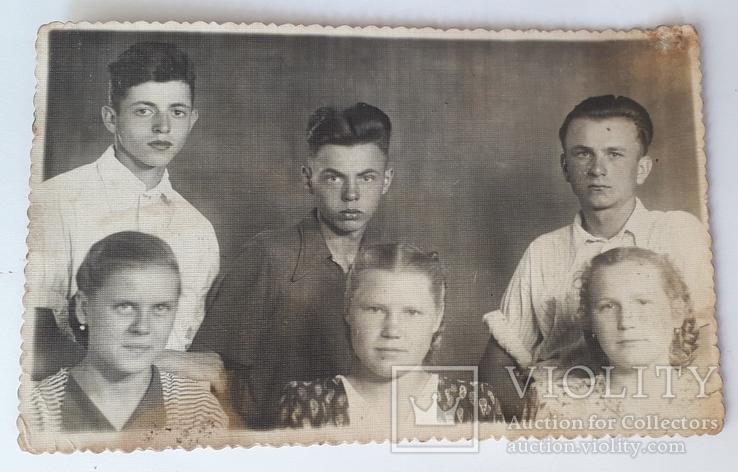 Практиканты ШЧ-14ст Здолбуново 1954 год (13.5*8.5), фото №2
