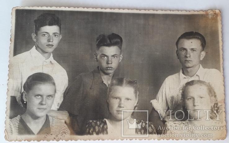 Практиканты ШЧ-14ст Здолбуново 1954 год (13.5*8.5), фото №3