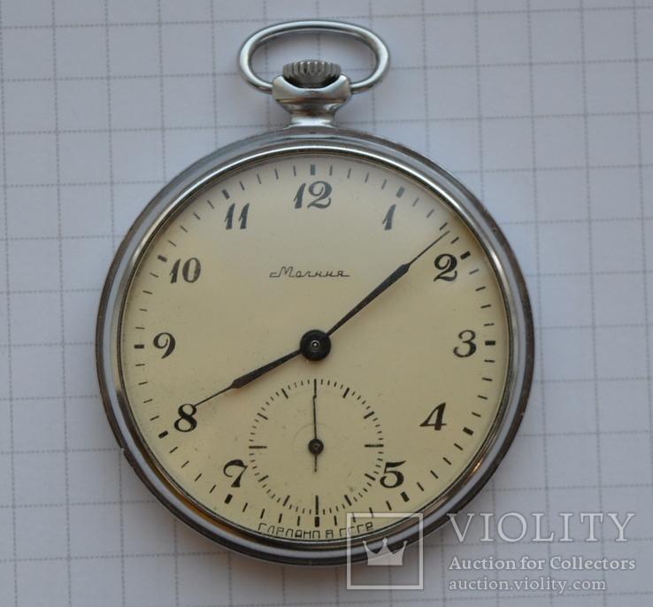 Часы Молния 18 камней на ходу