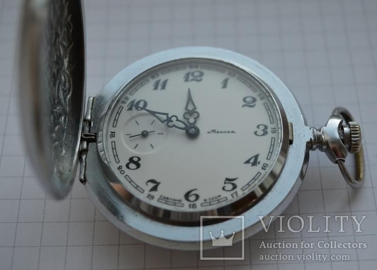Часы Молния 18 камней на ходу, фото №5