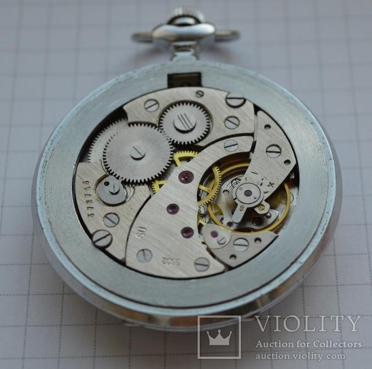 Часы Молния 18 камней на ходу, фото №9