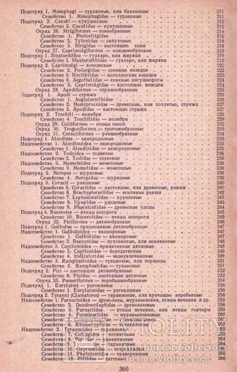Систематика птиц.Авт.Н.Карташев.1974 г., фото №8
