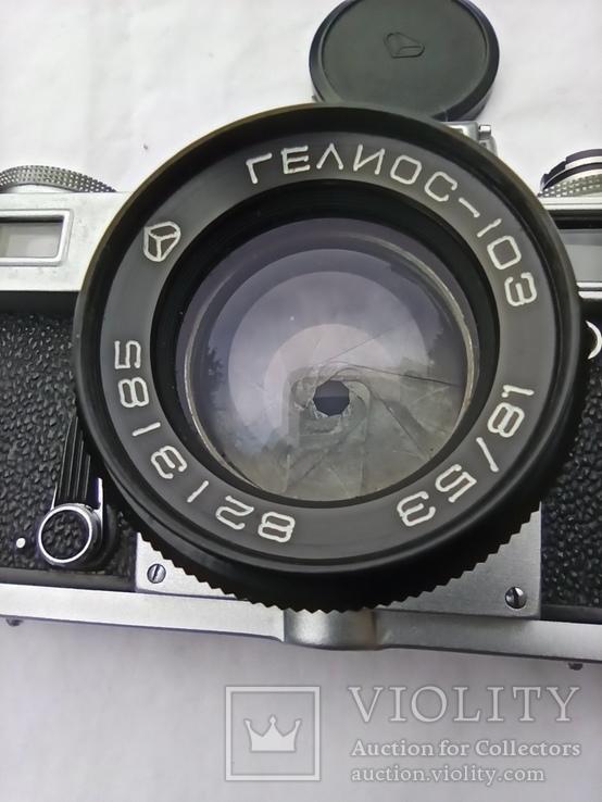 "Фотоапарат "" Киев"" ""KHIEV"". "" Гелиос -103., фото №3"