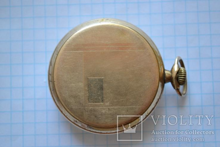 Часы карманные. Позолота 20 микрон., фото №3