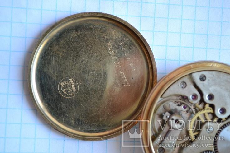 Часы карманные. Позолота 20 микрон., фото №6