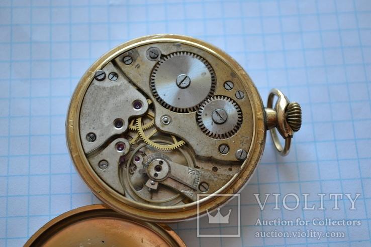 Часы карманные. Позолота 20 микрон., фото №8