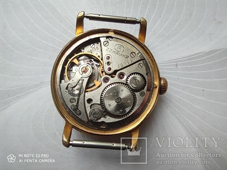 Часы Восток 22камня (прецизионные). позолота Au20, фото №4