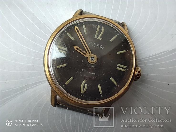Часы Восток 22камня (прецизионные). позолота Au20
