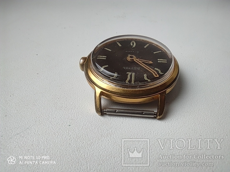 Часы Восток 22камня (прецизионные). позолота Au20, фото №7