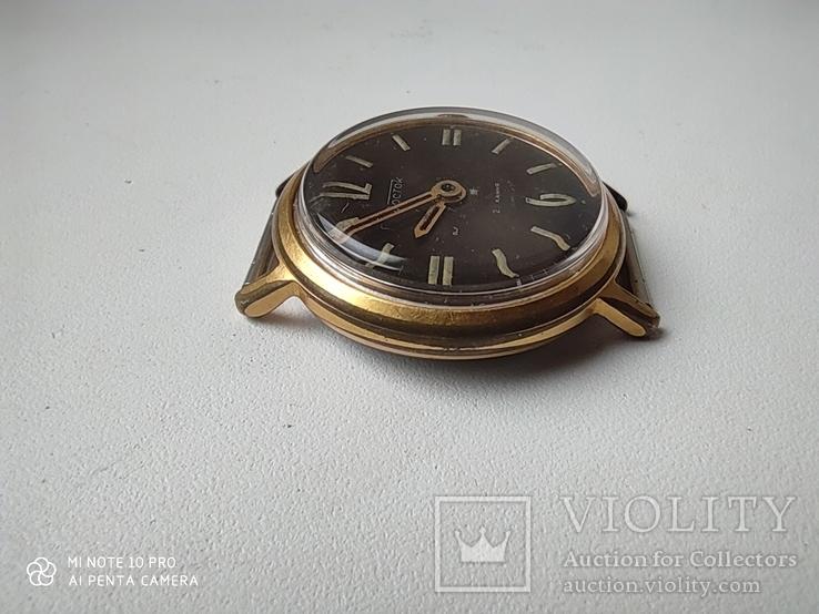 Часы Восток 22камня (прецизионные). позолота Au20, фото №8