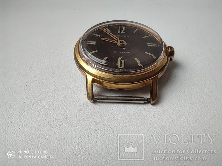 Часы Восток 22камня (прецизионные). позолота Au20, фото №9