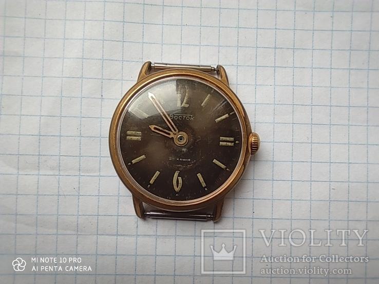 Часы Восток 22камня (прецизионные). позолота Au20, фото №10