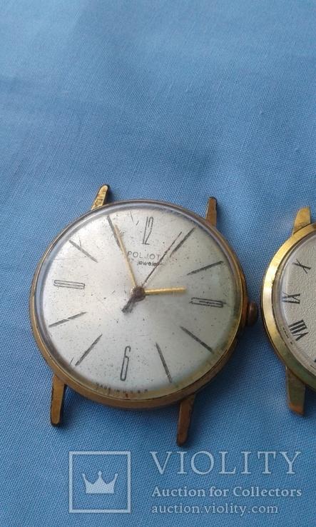 Часы наручные Полет AU20 и ЧайкаAU10, 2 шт. одним лотом., фото №4