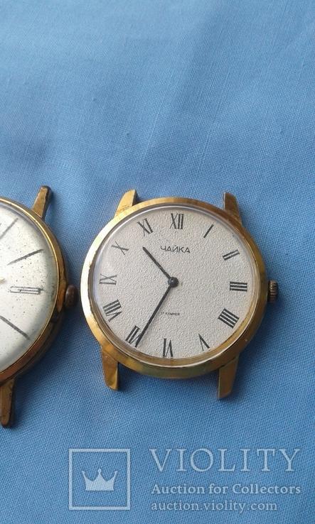 Часы наручные Полет AU20 и ЧайкаAU10, 2 шт. одним лотом., фото №5