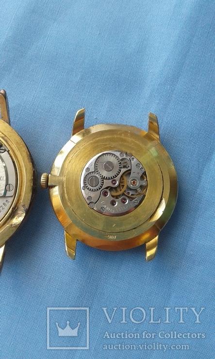 Часы наручные Полет AU20 и ЧайкаAU10, 2 шт. одним лотом., фото №7