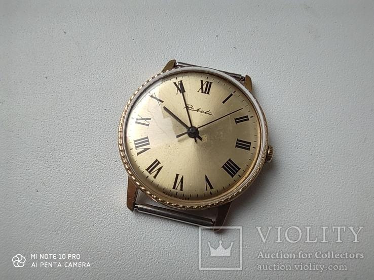 Часы Ракета  позолота Au5, фото №3