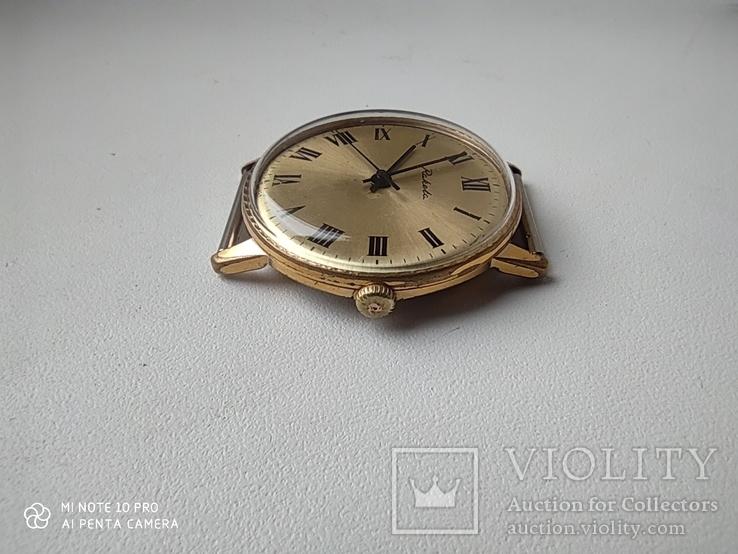 Часы Ракета  позолота Au5, фото №6