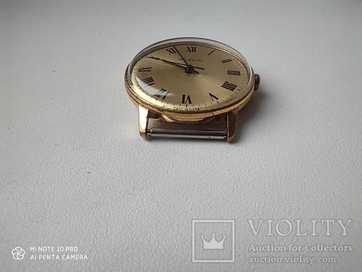 Часы Ракета  позолота Au5, фото №9