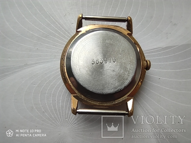 Часы Ракета  позолота Au5, фото №10