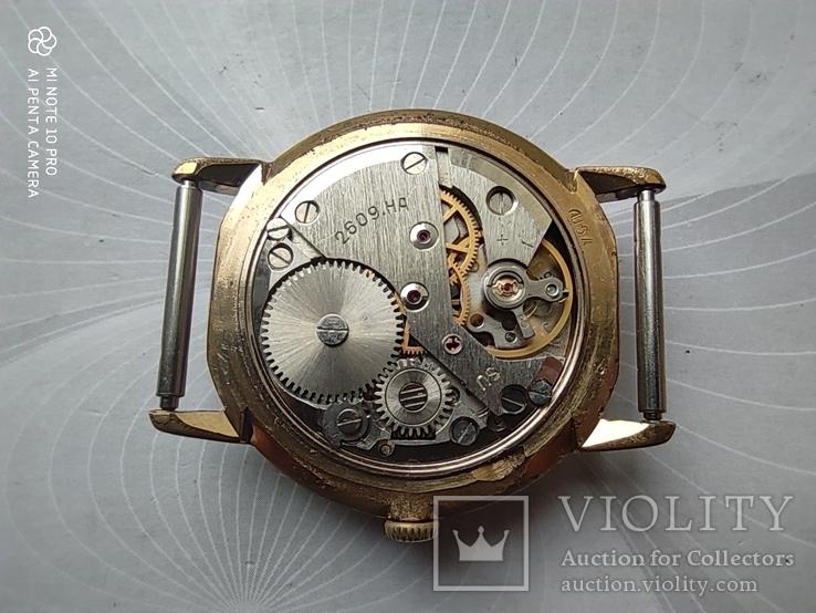 Часы Ракета  позолота Au5, фото №11