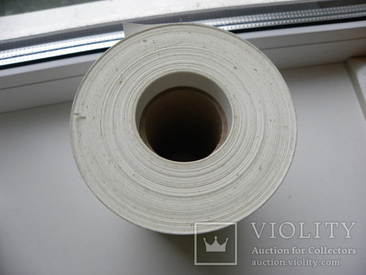 Пленка самоклеющаяся , белая,  39 метров , ширина 140 мм, фото №3