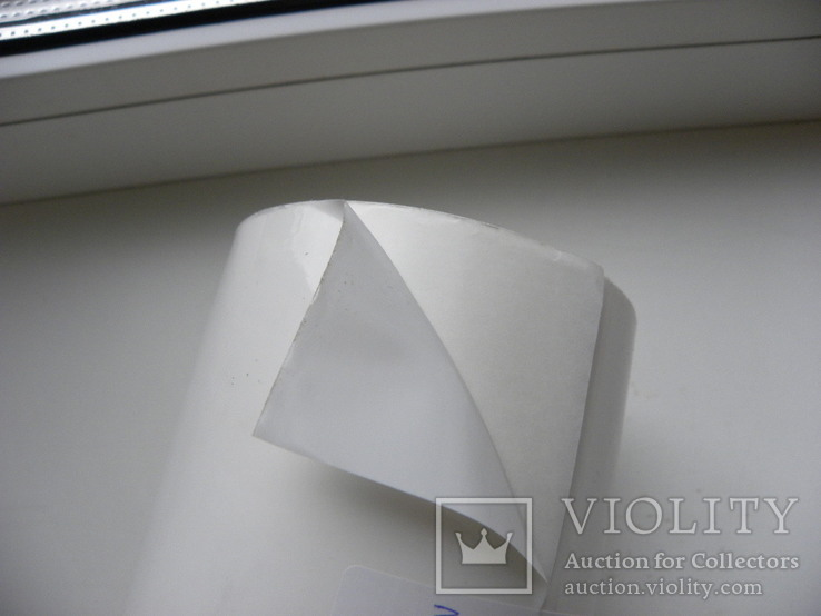 Пленка самоклеющаяся , белая,  39 метров , ширина 140 мм, фото №4