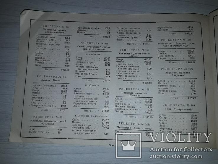 Кондитерские изделия  НАРКОМСНАБА РСФСР 1934, фото №13