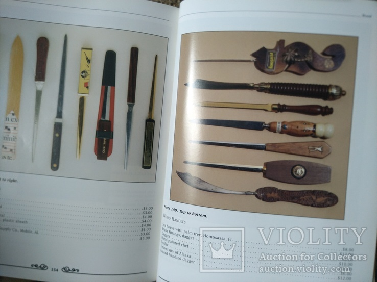 Ножи для бумаг. Каталог с ценами. Collector's Guide to Letter Openers, фото №8