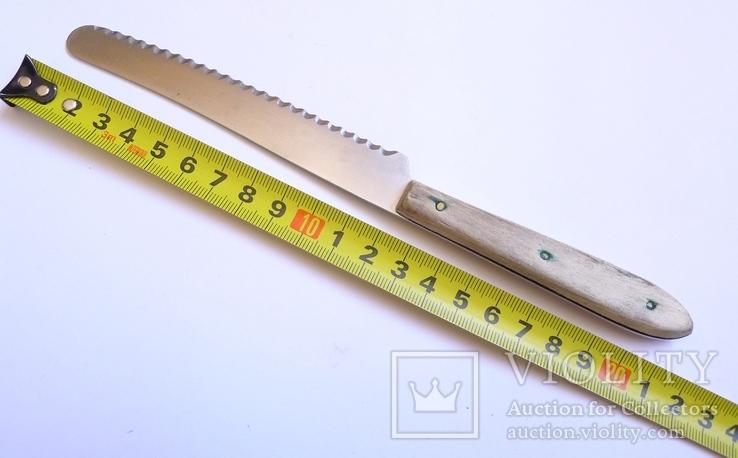 Хлебный нож Solingen. Marsvogel, фото №3