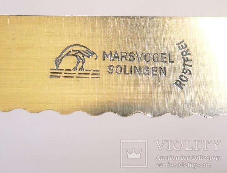 Хлебный нож Solingen. Marsvogel, фото №5