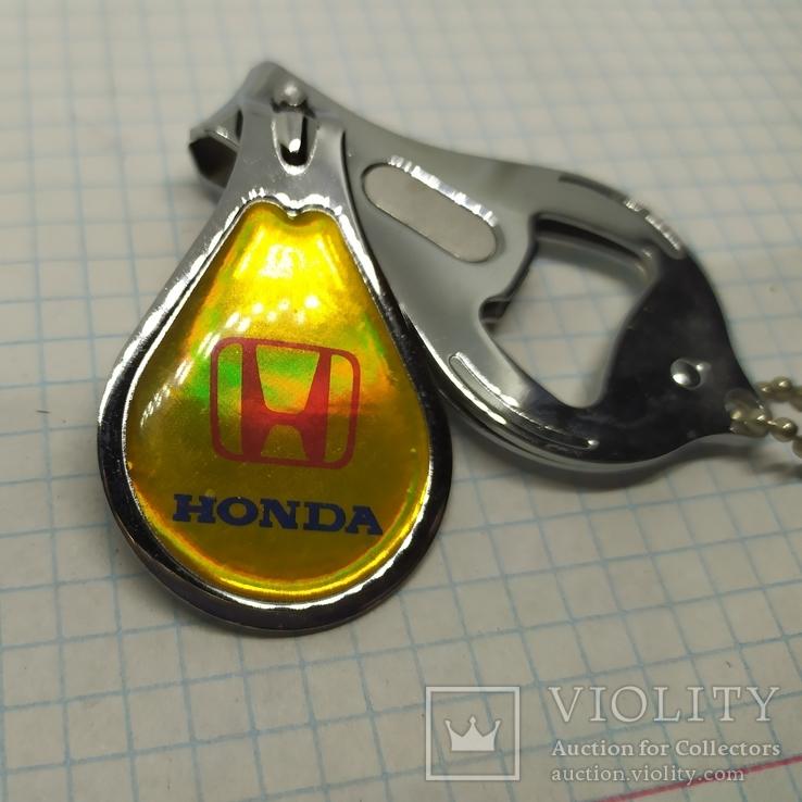 Брелок Honda. Открывалка и щипчики. Новые, фото №3