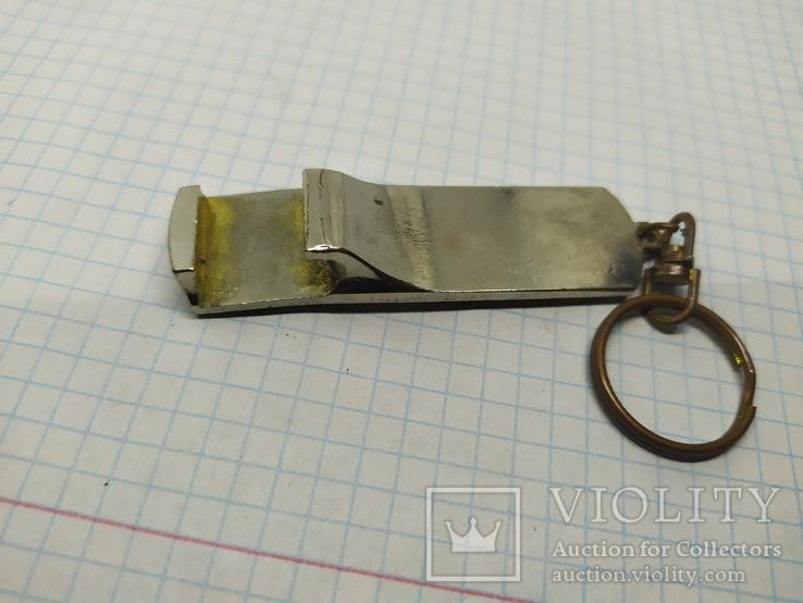Брелок Батарейка Дрова с открывалкой, фото №3
