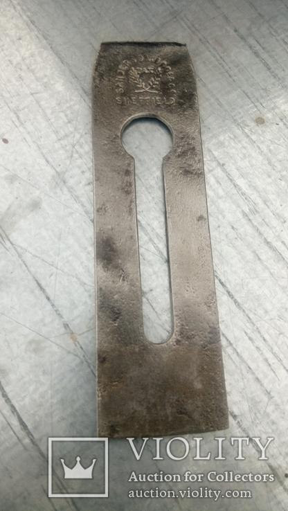 Лезвие Нож рубанка Англия Sanderson Brothers многослойная сталь, фото №4