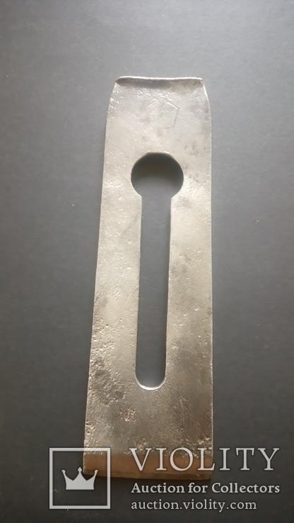 Лезвие Нож рубанка Англия Sanderson Brothers многослойная сталь, фото №9