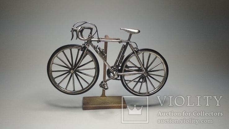Серебряная миниатюра велосипед, Medusa,