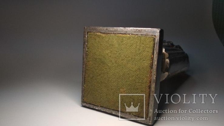 Старинная бензиновая зажигалка, рыцарь., фото №3