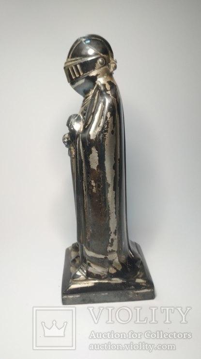 Старинная бензиновая зажигалка, рыцарь., фото №8