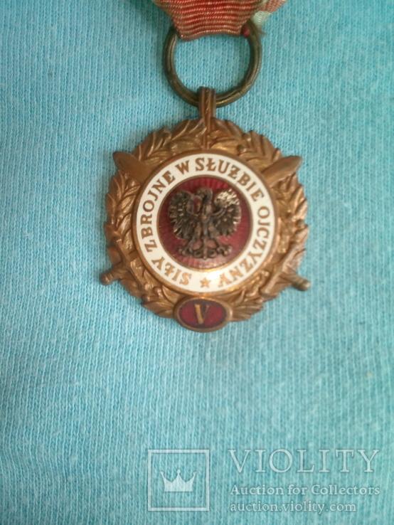 Медаль.Польша, фото №2