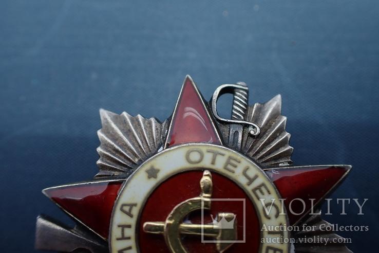 Орден Отечественной Войны 2ст №101*** без клейма, фото №5