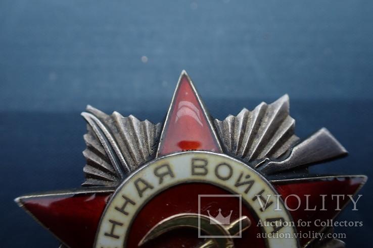 Орден Отечественной Войны 2ст №101*** без клейма, фото №7