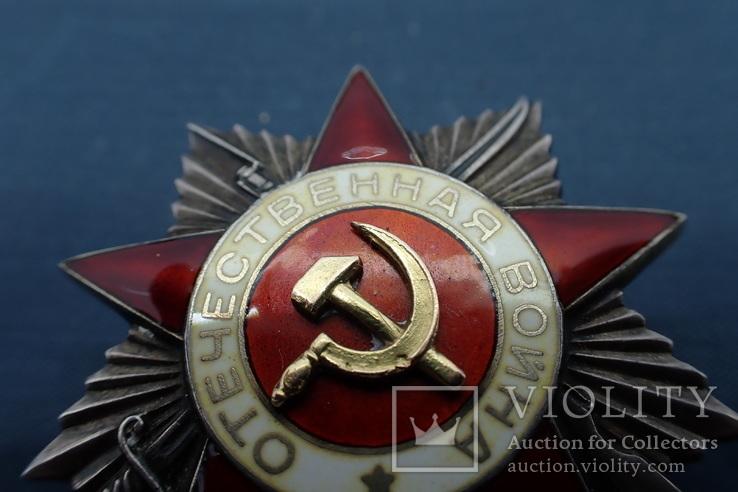 Орден Отечественной Войны 2ст №101*** без клейма, фото №9
