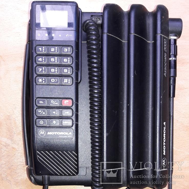 Первый в Украине мобильный Телефон Мotorola Аssociate 2000, фото №6