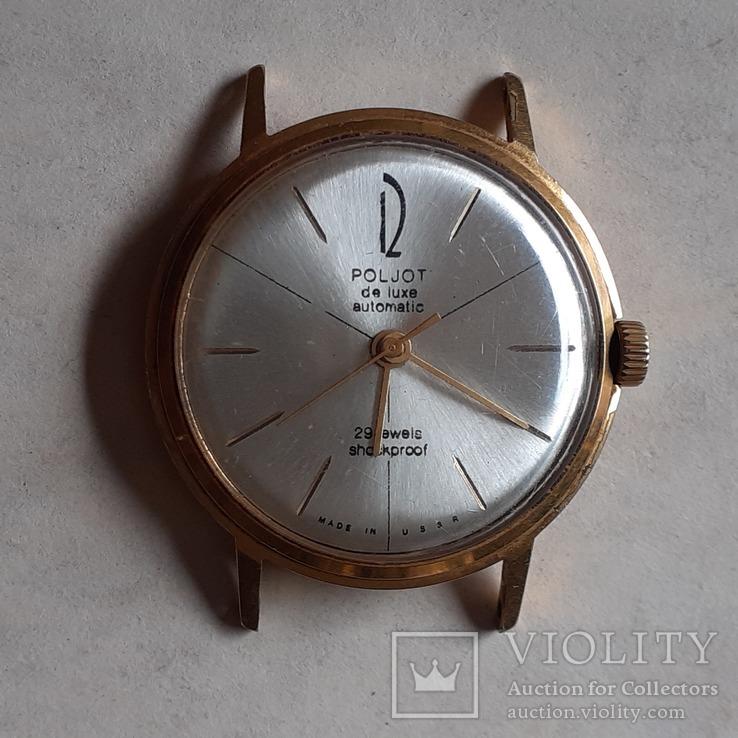 Часы Poljot de luxe au 20 automatic