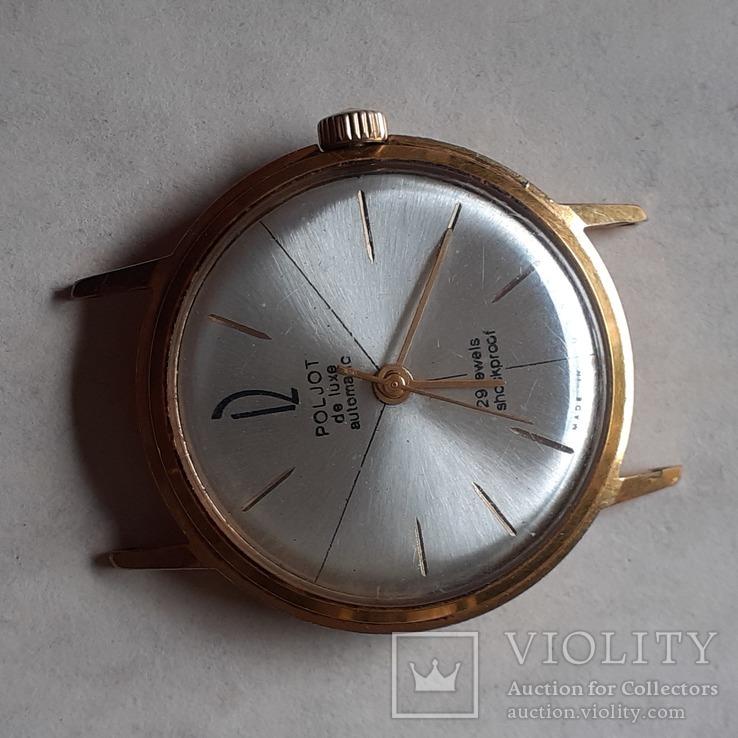 Часы Poljot de luxe au 20 automatic, фото №3