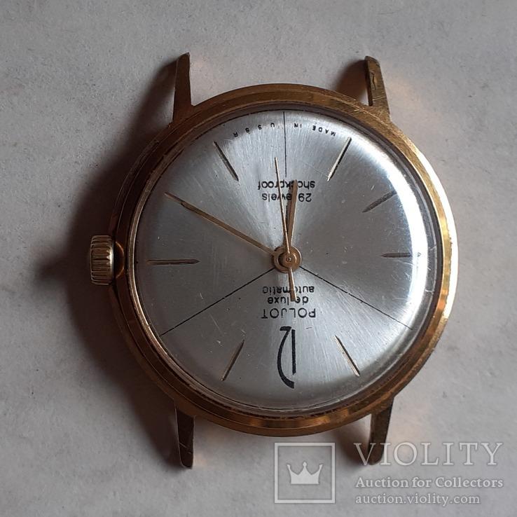 Часы Poljot de luxe au 20 automatic, фото №4